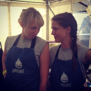 Anna & Shelly at Liveprool Food & Drink Festival